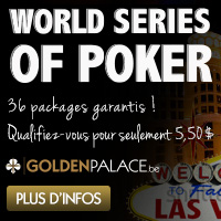 Golden Palace Poker offre 36 Packages pour le WSOP 2013