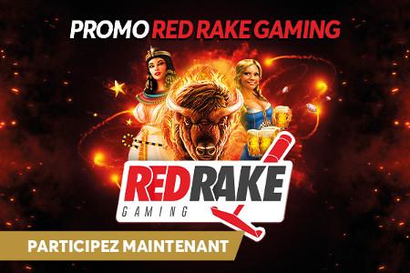 Promo Red Rake Gaming : 1.100 euros par jour à gagner sur Golden Palace