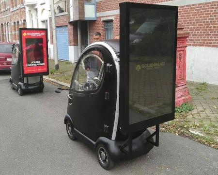 MrMondialisation tacle Golden Palace et ses véhicules publicitaires