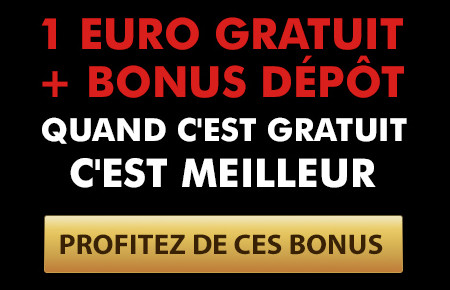 1 euro et un bonus de dépôt de 100% sur Golden Vegas