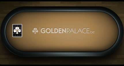 Table Poker GoldenPalace.be