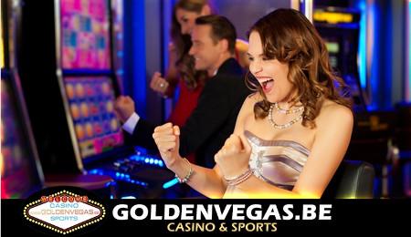 Jusqu'à 75 € de bonus sur goldenvegas.be avec un bon Groupon