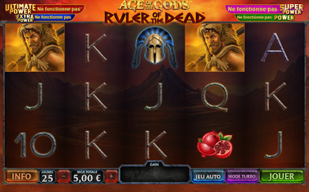 Age of the Gods : Ruler of the Dead - Revue de jeu