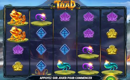 Fire Toad - Revue de jeu