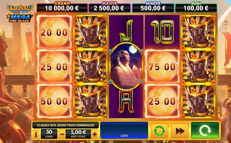 Khonsu God of Moon : Mega Fire Blaze - Revue de jeu