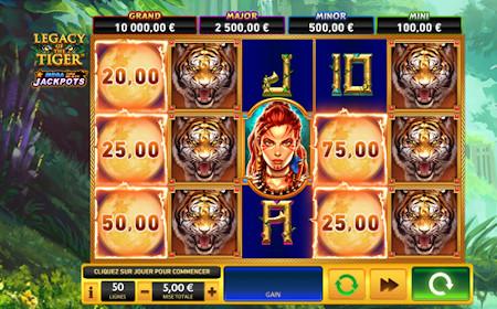 Legacy of the Tiger - Revue de jeu