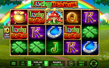 Lucky Mushrooms Deluxe - Revue de jeu