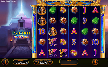 Power Zones : Ishtar - Revue de jeu