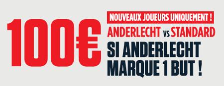 Anderlecht x Standard:  100 eurospour les nouveaux joueurs