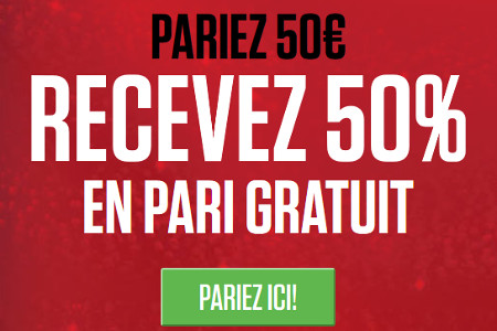 Champions League et Europa League : Gagnez un bonus de 50 %