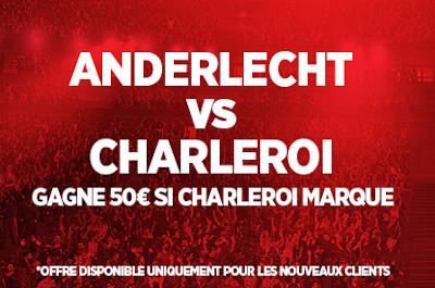 Empochez 5 fois votre mise avec le choc Anderlecht x Charleroi grâce à Ladbrokes