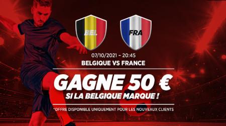 Belgique x France: 50 euros si les Diables rouges marquent avec Ladbrokes