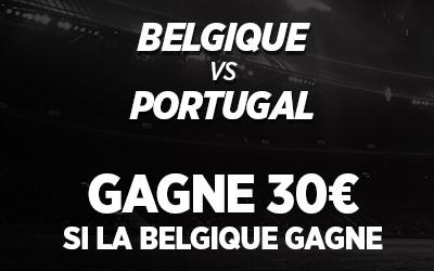 Belgique - Portugal: Triplez votre mise si les  Diables rouges gagnent avec Ladbrokes