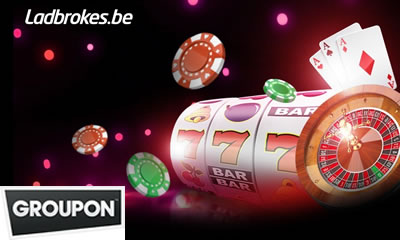 Deal Groupon.be jouer sur ladbrokes Casino