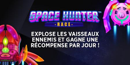 Space HunterRace : Une surprise par jour à gagner sur le casino Ladbrokes