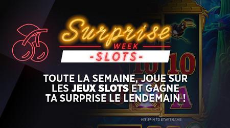 Slots Week: Une surprise par jour sur le casino