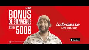 Vidéo Ladbrokes des 500 euros offerts au casino en ligne