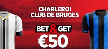 Charleroi x FC Bruges