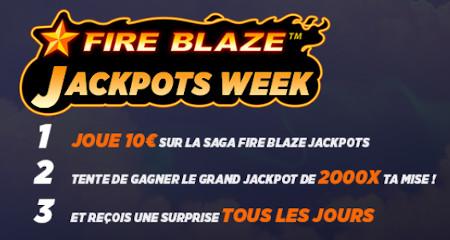 Fire Blaze Jackpots avec Ladbrokes