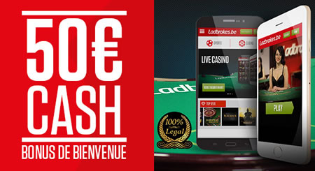 50 € cash pour le Live Casino en version Mobile de Ladbrokes