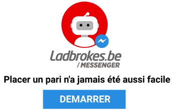 Parier via Messenger avec Chatbot Messenger de Ladbrokes