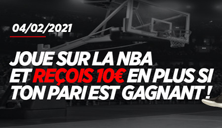 NBA: Recevez un extra cash de 10 € avec Ladbrokes