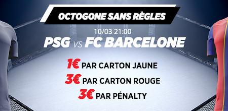 PSG x Barça: Recevez du cash pour chaque carton et pénalty avec  Ladbrokes