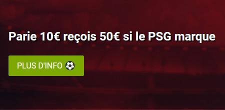 PSG x FC Barcelone : Gagnez 5 fois votre mise si Paris marque avec Ladbrokes