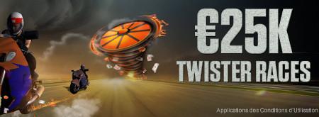25.000 € à gagner lors des courses Twister sur Ladbrokes.be