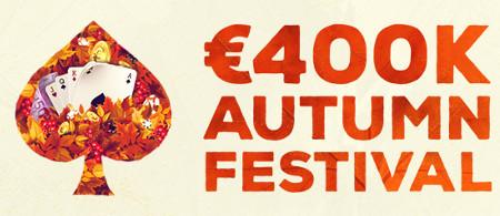 400.000 euros à se partager lors de l'Autumn Festival
