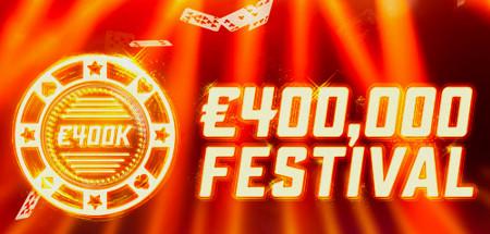 400k Festival : 400.000 € à se partager sur Ladbrokes Poker