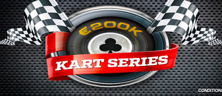 Kart Series 200.000 € : Participez sur les tables de Ladbrokes Poker