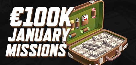 Missions de Janvier de Ladbrokes Poker