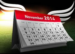 Le poker en fête sur ladbrokes.be en novembre