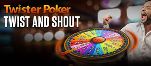 Twister Poker : Twist and Shout sur Ladbrokes