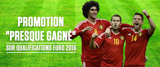 Money Back sur vos paris pendant les qualifications de l'Euro 2016