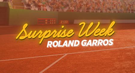 Roland-Garros: Une surprise par jour vous attend  sur le site Ladbrokes