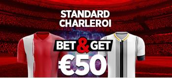 Standard de Liège x Charleroi: Multipliez votre mise par 5 avec Ladbrokes