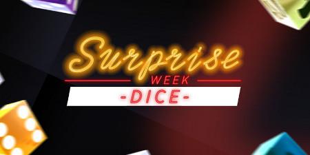 Dice Week: Une surprise par jour sur les jeux de  dice du casino Ladbrokes