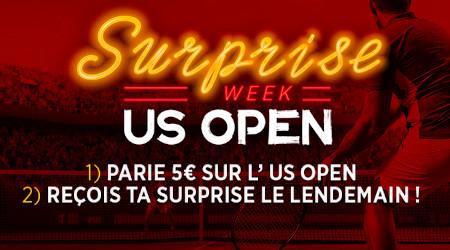 US Open Week: Une surprise par jour en pariant avec le bookmaker Ladbrokes