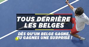 Ladbrokes vous offre une surprise pour chaque victoire des Belges à  l'US Open