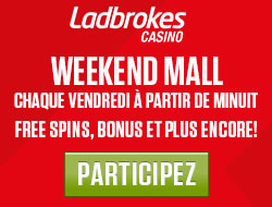Ladbrokes Casino lance son Week-end Mall