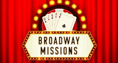 Broadway Missions sur Ladbrokes Poker