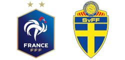 France x Suède