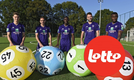 Lotto sponsorise le Royal Sporting Club d'Anderlecht