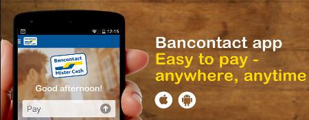 LuckyGames et l'Appli Bancontact - Cr�ditez votre compte joueur en un clic !