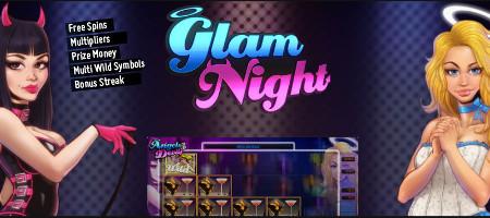 Découvrez «Glam Night» sur LuckyGames.be