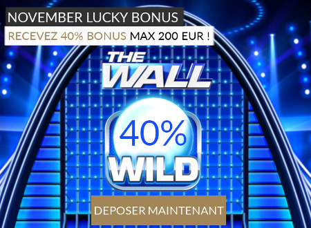 Découvrez The Wall  sur LuckyGames.be