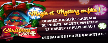 Christmas Dice sur LuckyGames.be