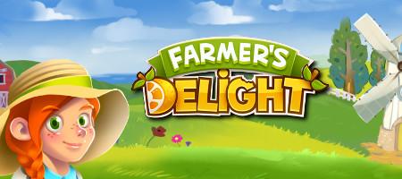 Découvrez Farmer's Delight sur luckygames.be